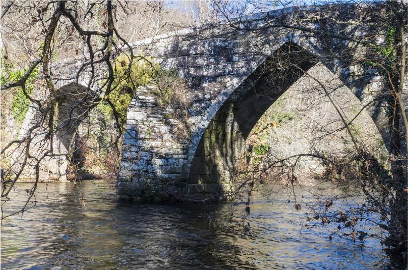 Puente gótico de San Alberte
